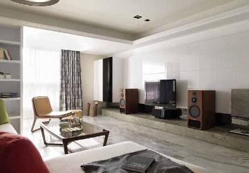 春之苑128平四居室简约设计装修