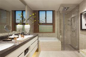 三居 白领 旧房改造 收纳 80后 小资 舒适 温馨 高富帅 卫生间图片来自fy1831303388在彩叠园新中式的分享