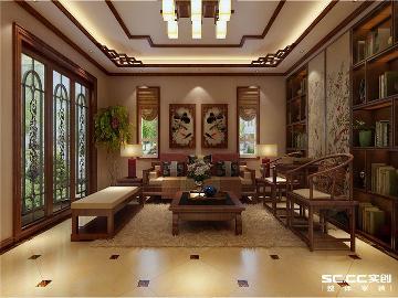 兰州林隐天下-中式古典装修