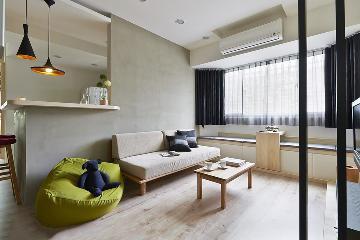 光华苑一室一厅52平简约风格