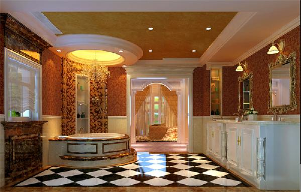 象牙白的浴室柜颜色,清晰自然的家具线条、抽屉扶手的精美设计、同系色的大理石台面,第一处细节的体现都是为品质生活量身打造。