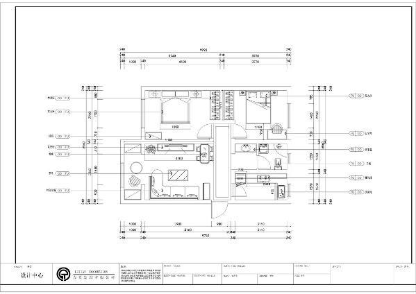 本案为天津朝阳北部湾2室1厅1厨1卫87.13平米户型。