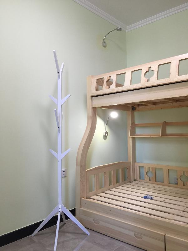 卧室 儿童房周内常见的高低床,充满童趣的设计,也是非常好的收纳手段。