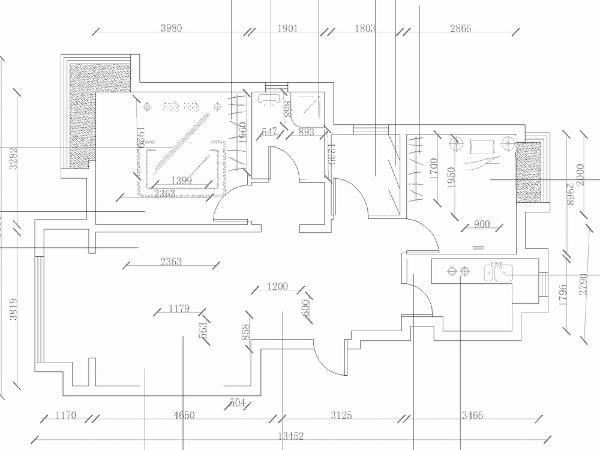 本户型型为金隅悦城户型图高层标准层B1户面积93.00㎡一个案例。