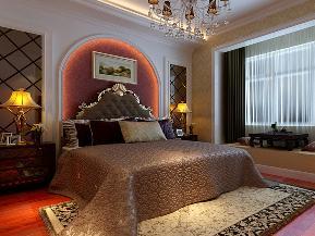 二居 欧式 简欧 温馨 大气 卧室图片来自tjsczs88在温馨高雅舒适的简欧2居室的分享