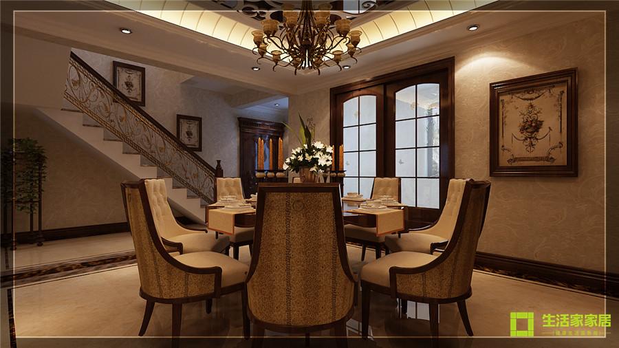 别墅 白领 80后 小资 美式乡村 生活家家居 餐厅图片来自天津生活家健康整体家装在南湖壹号的分享