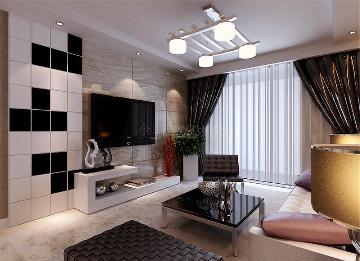 金辉世界城三居室现代简约风格
