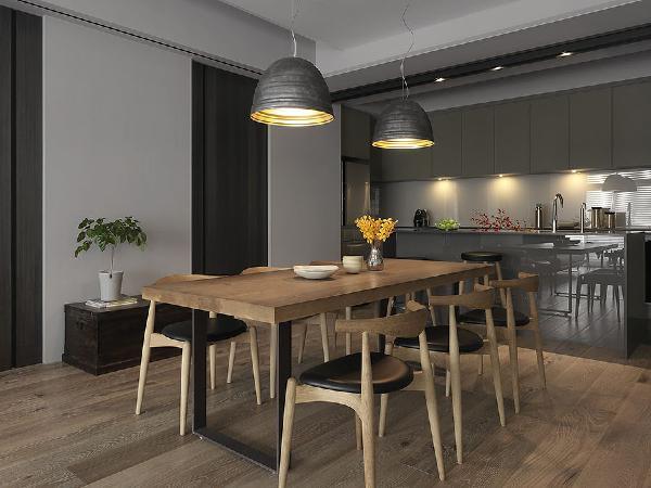 """卧室门采用""""益圆木门""""设计师系列:木门的款式与颜色可以根据不同装饰风格进行制,使每一樘木门都可以完美的与家居空间融合,"""