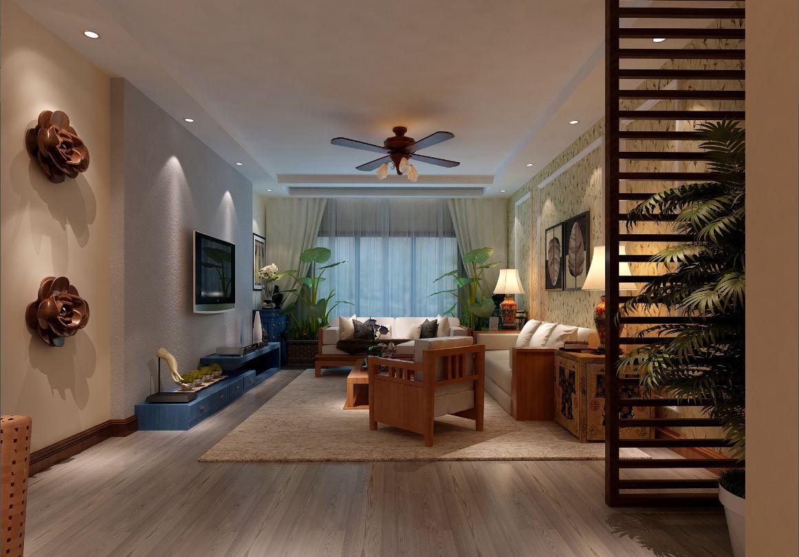 三居 东南亚风格 客厅图片来自轻舟装饰-90后的华仔在纳帕澜郡的分享