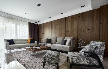 精巧空间 118平木质时尚现代3居