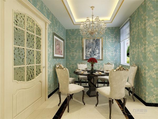 餐桌选为六人餐桌,给业主用餐带来方便。