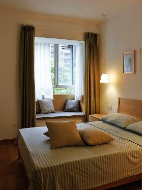 简约 二居 小清新 素雅 简洁 卧室图片来自tjsczs88在清新淡雅生活风的分享