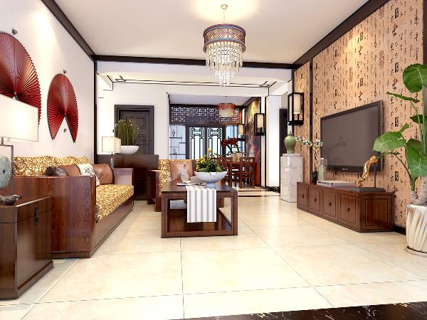 中式风格适合喜欢中国传统文化,性格沉稳的人,特别受到中老年人的追捧,是许多成功人士打造家居环境的理想选择。
