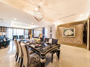 新古典 小清新 四居 餐厅图片来自tjsczs88在清新海蓝新古典的分享