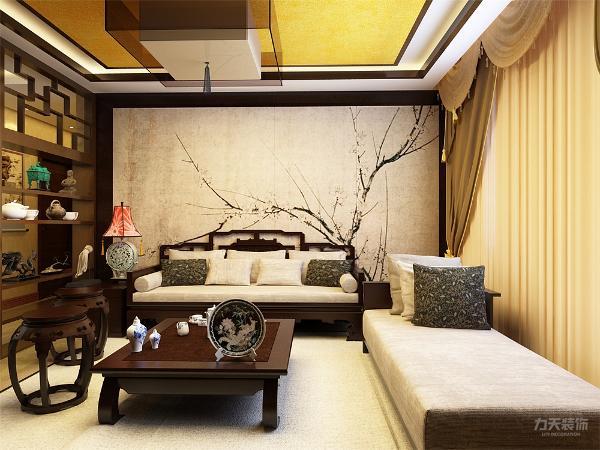 客厅整体家具传统中式风格