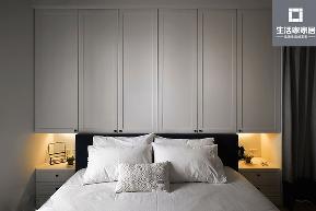 宜家 北欧 卧室图片来自武汉生活家在广电江湾新城三室两厅89平北欧风的分享