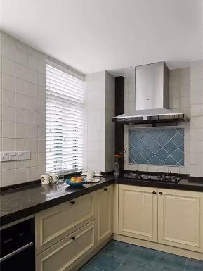 美式 三居 轻盈 舒适 厨房图片来自高度国际装饰宋增会在碧桂园118平米美式设计的分享