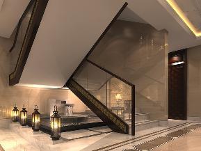 别墅 中式 典雅 水墨 古风 楼梯图片来自tjsczs88在水墨祥云,中式古典的分享