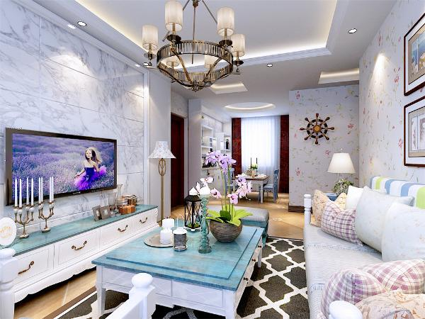 本次设计色彩主要以暖色为主,淡淡的嫩粉,浅紫色,以及显著特点的小碎花,清淡的,水质感觉的色彩,能够让室内透出绝对自然放松的气氛。