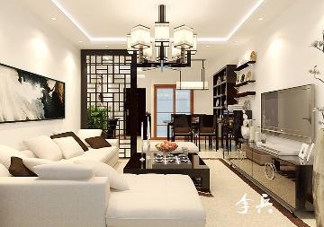 华强城116平中式风格