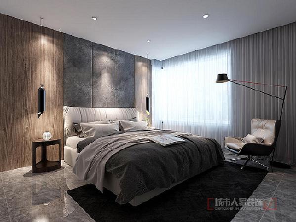 室内采用的是较为暗淡的光线,室内光线的选择不需要太明亮,因为是一个休息的地方,所以尽量以休闲舒适为主。