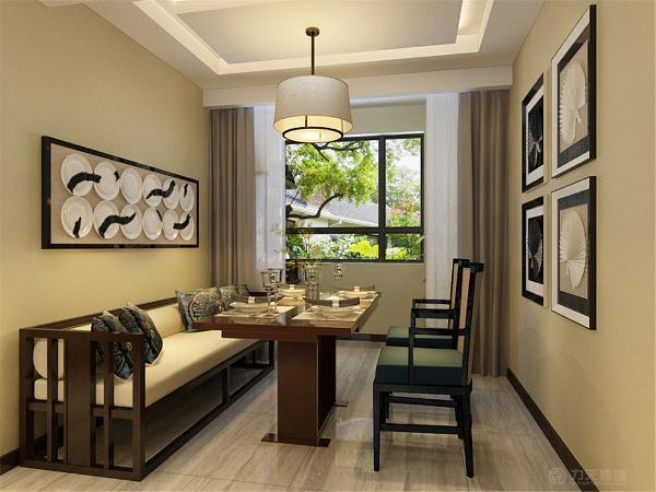 家中的古旧的老家具要善加利用,实木的家具、太师椅、有雕饰的装饰品以及灯光等等都可以增添新中式的原汁原味。