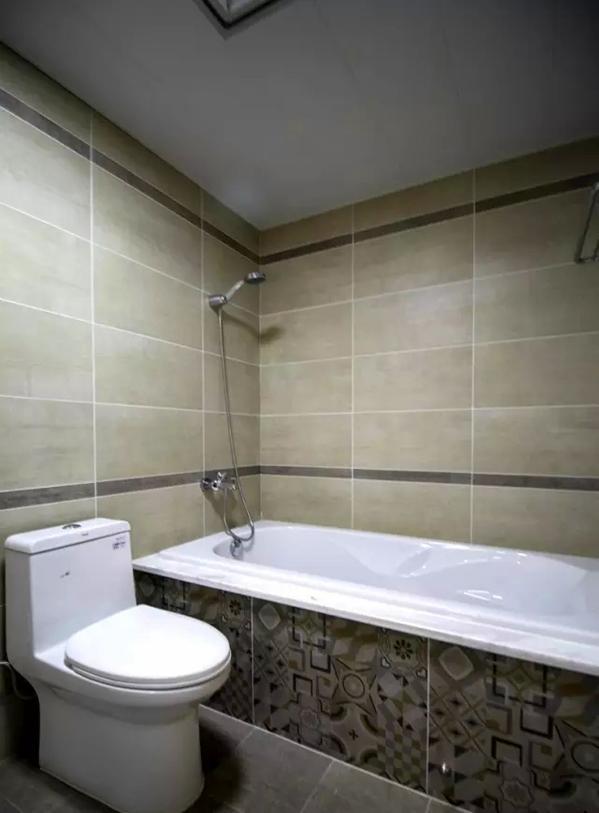 ▲ 主卫放置了浴缸
