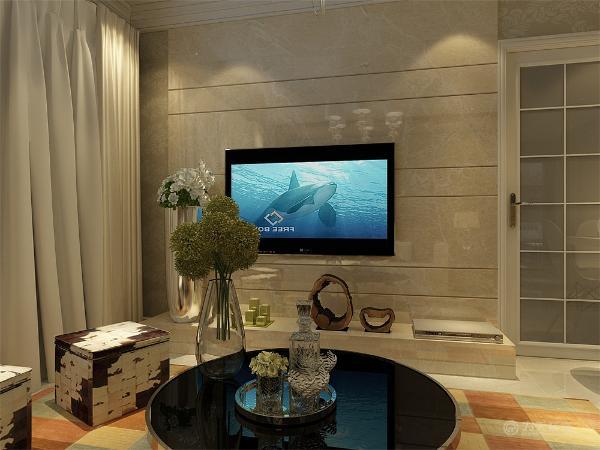 现代风格外形简洁、功能强,强调室内空间形态和物件的单一性、抽象性。卧室简洁的几何图案的床品,家具均采用白色,设计简单大方,典型的现代风格卧室。