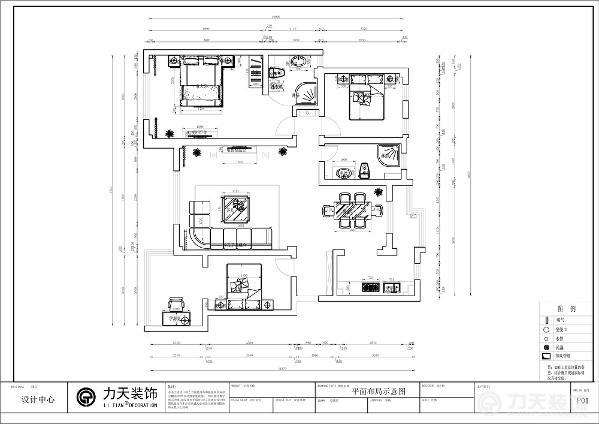 此户型整体结构方正,结构合理,入户门右侧是厨房,而且在厨房和餐厅位置上的设计来说,是很合理的,此设计为业主省去了很多不必要的麻烦,也对客厅和餐厅的分区进行了一个简单的划分。