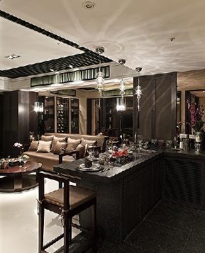 后现代 时尚 舒适 温馨 四居 简约 厨房图片来自北京紫禁尚品国际装饰kangshuai在北京丽景长安的分享