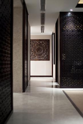 中式 三居 楼梯图片来自鸿扬家装武汉分公司在百步亭之玉宇琼楼的分享