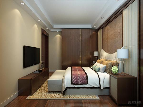 卧室我们使用了强化复合地板。同样美观、耐磨,充满现代气息。