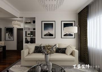保利达江湾城113平现代风格