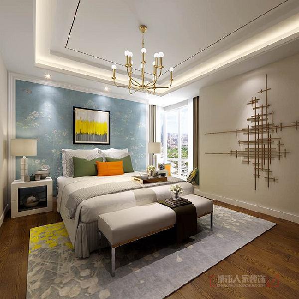 在每间卧房空间,营造舒缓的睡眠氛围外,更以不同的漆面与地坪色调来强调每个人独特性;无论是在佈局、摆设或细节处。