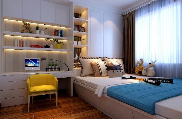 简约 卧室图片来自阿布的小茅屋15034052435在现代简约装修170平米