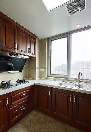 新古典 小资 装修实景 80后 三居 厨房图片来自武汉苹果装饰在苹果装饰 保利茉莉公馆的分享