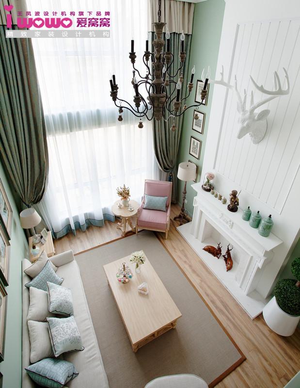 简约 马卡龙 客厅图片来自爱窝窝精致家装机构在浓情马卡龙的分享