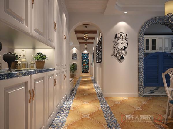 氛围或妩媚、或浪漫、或知性,都会让你的心灵开始平静,浪漫雅致的蓝米配的家居装修设计,显得那么的纯净明媚。