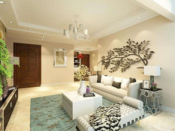 本户型为金侨公园壹号户型三室两厅一厨一卫图一期高层标准层E户型,面积为94.00㎡。设计风格为现代简约。现代简约风格是以简约为主的装修风格。简约主义源于20世纪初期的西方现代主义。