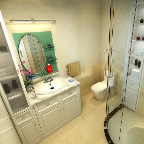 三居 简约 现代 温馨 卫生间图片来自天津京尚装饰在京尚装饰-观锦-现代三居133㎡的分享