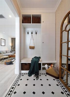 三居 现代简约 小清新 衣帽间图片来自九鼎建筑装饰工程有限公司成都分在信和御龙山的分享