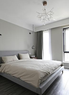 三居 现代简约 小清新 卧室图片来自九鼎建筑装饰工程有限公司成都分在信和御龙山的分享