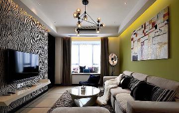 95平现代简约空间 放松休闲的家