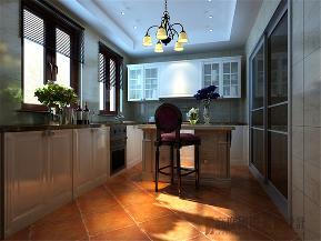 新古典 简约新古典 别墅 别墅装修 小资 厨房图片来自沙漠雪雨在350平米典雅时尚简约新古典大宅的分享