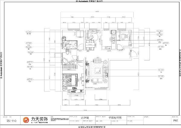本户型为远洋城户型图C户型106㎡ 三室二厅一厨一卫的大户型,整体空间分配合理卫生间厨房面积小。