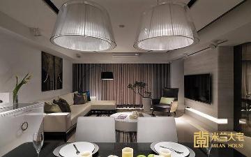 165平方米现代简约三居室