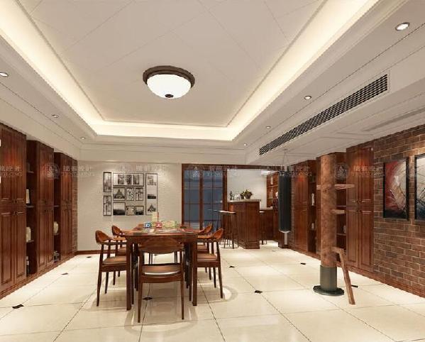 青浦泷湾380平别墅户型装修欧美风格设计方案展示,上海腾龙别墅设计师祝炯作品,欢迎品鉴!