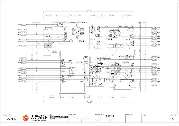 本案为奥莱城小高层标准层C户型,建筑面积为139平方米,是三室两厅两卫一厨的标准户型。