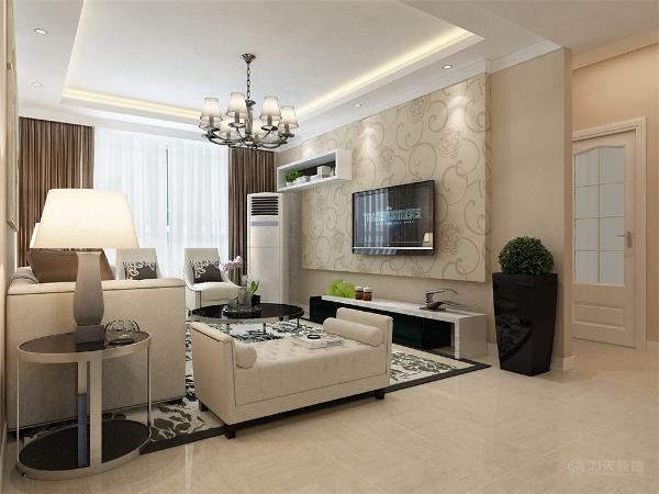 这是一套雅诗兰庭2室1厅1厨1卫93㎡的户型。此次设计方案定义为现代简约风格。这次风格的设计整体色调简洁大方,给人大气沉稳,又不失温暖舒适的感觉。