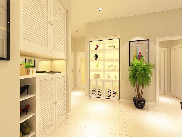 卫生间选择的是集成顶的造型,方便安装顶灯与浴霸排风。并且集成顶在安装与造型和实用上的性价比都比较高。